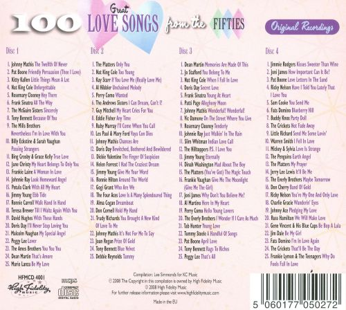 Classic upbeat love songs