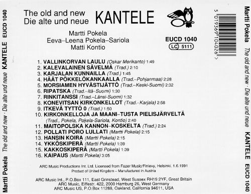 Kantele: The Old and New