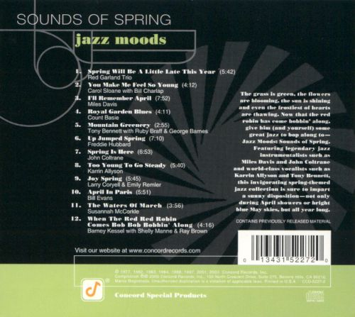 Jazz Moods: Sounds of Spring