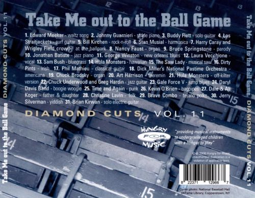 Take Me out to the Ball Game: Diamond Cuts, Vol. 11