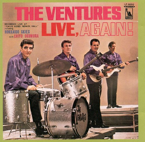 On Stage Encore/The Ventures Live, Again!
