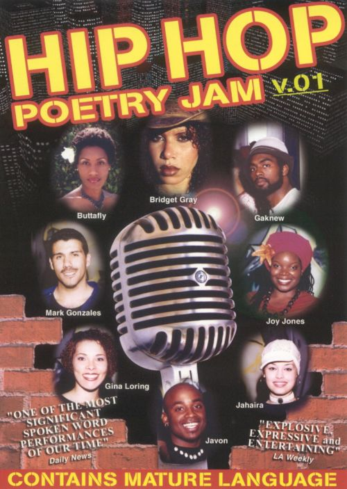 Hip Hop Poetry Jam, Vol. 1 [DVD]