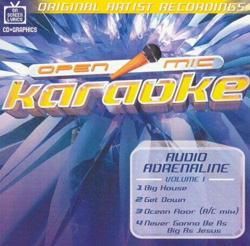 Audio Adrenaline, Vol. 1 [Enhanced] Karaoke