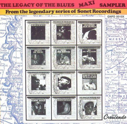 The Legacy of the Blues Maxi Sampler