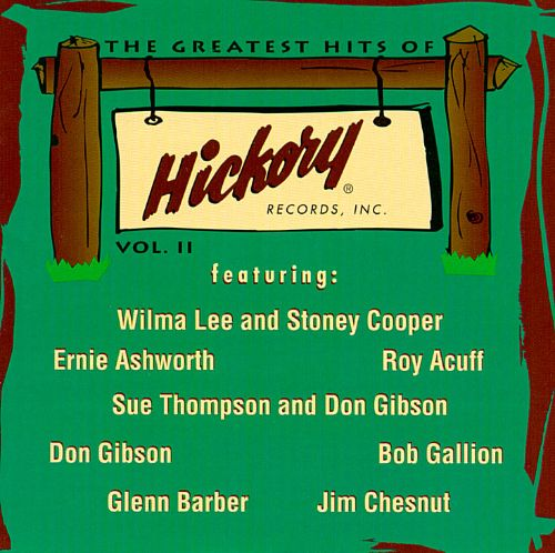 The Greatest Hits of Hickory Records, Vol. 2