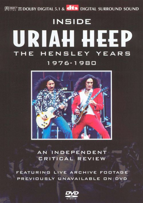 Critical Review: The Hensley Years 1976-1980 [DVD]