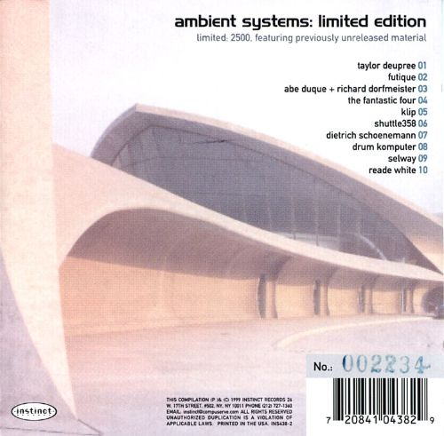 Ambient Systems: Limited Edition