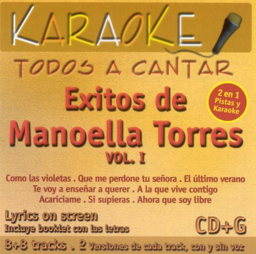 Exitos de Manoela Torres, Vol. 1