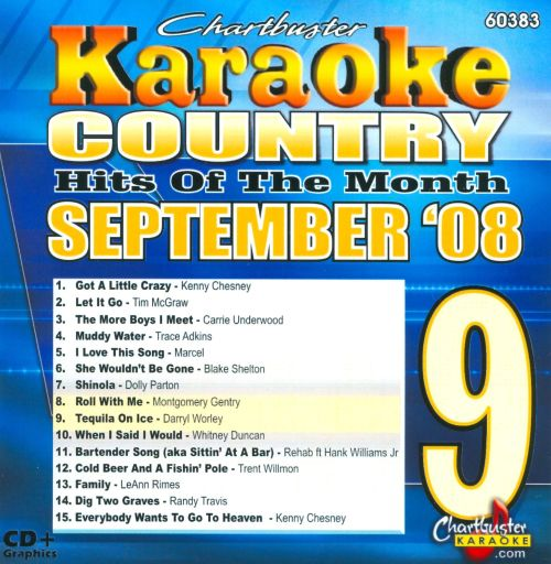 Country Hits October 2008