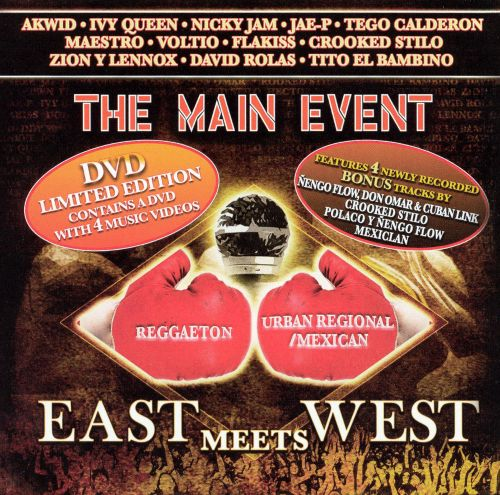The Main Event: East Meets West [CD & DVD]