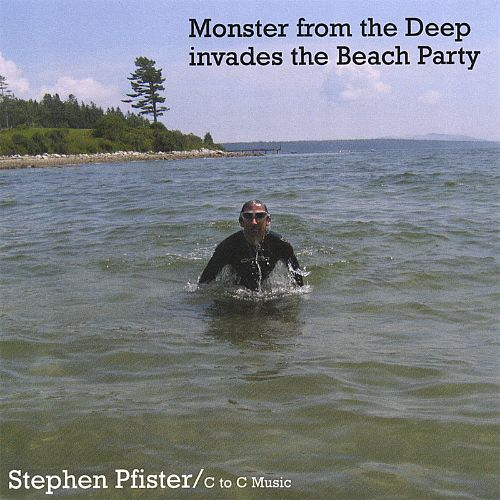Monster from the Deep Invades the Beach Party
