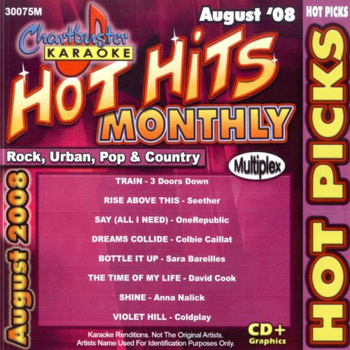 Karaoke: August Hot Hits of the Month
