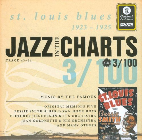 Jazz in the Charts, Vol. 3: St. Louis Blues 1923-1925