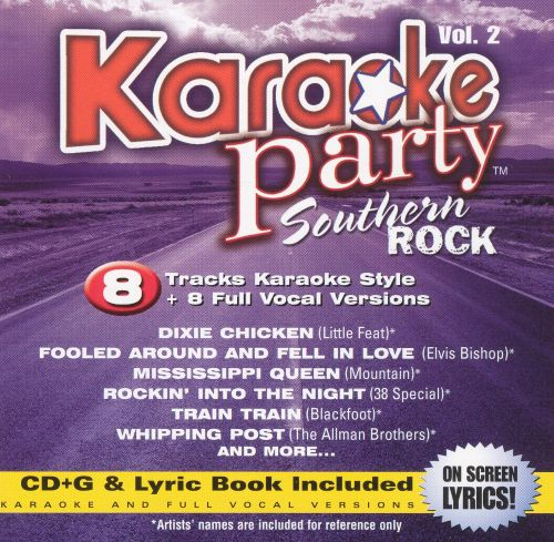 Karaoke Party: Southern Rock  Vol. 2