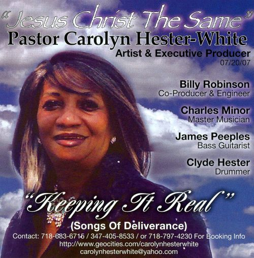 Keeping It Real (Songs Of Deliverance)