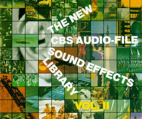 New CBS Audio-File Sound Effects Library, Vol. 2
