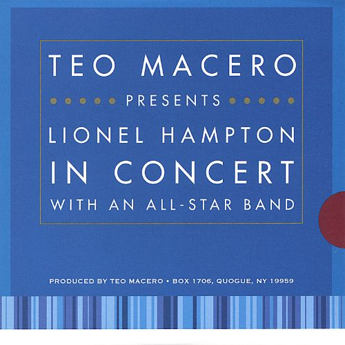 Lionel Hampton In Concert with an All-Star Band