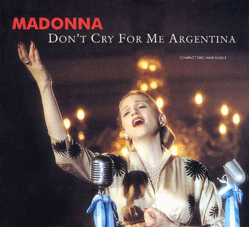 Don't Cry for Me Argentina [US CD Single]