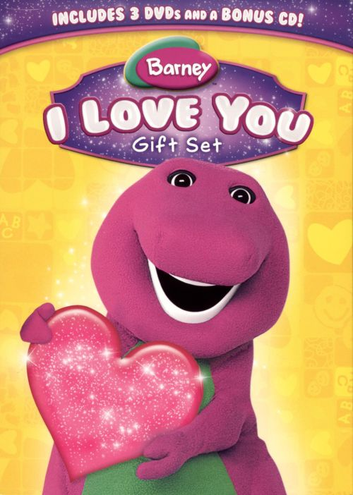Barney: I Love You Gift Set [DVD/CD]