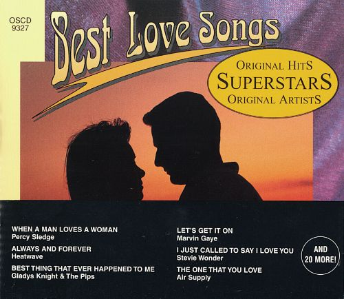 The best i love you songs
