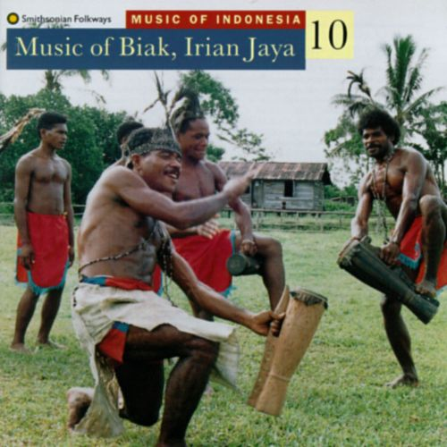 Music of Indonesia, Vol. 10: Music of Biak, Irian Jaya  (Wor, Church Son