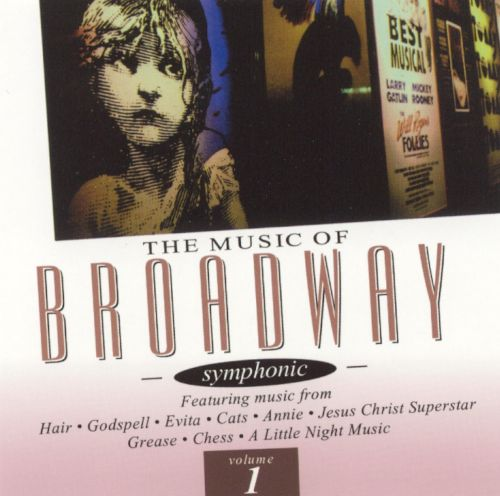 The Music of Broadway, Vol. 1