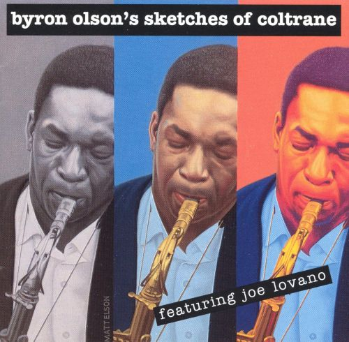 Byron Olson's Sketches of Coltrane