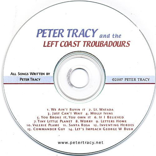 Peter Tracy and the Left Coast Troubadours