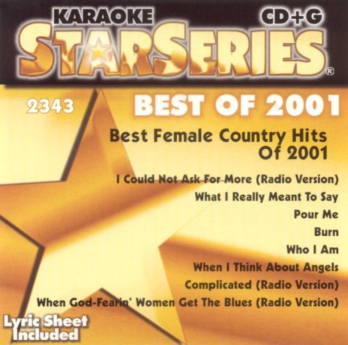 Female Country Hits of 2001