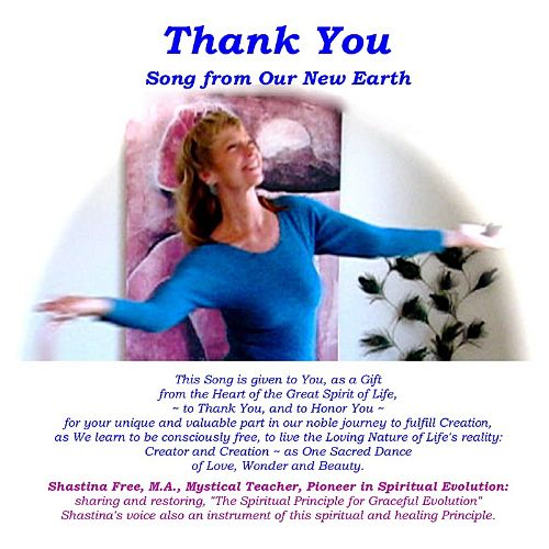 Thank You! Song from Our New Earth
