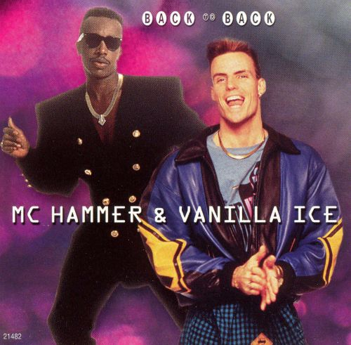 Back to Back: MC Hammer and Vanilla Ice
