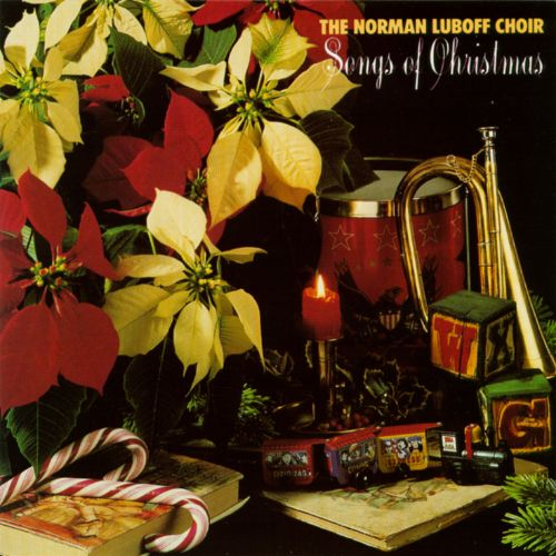 Lighted 8 Song Musical Holiday Christmas Carolers Choir: Songs Of Christmas - Norman Luboff Choir