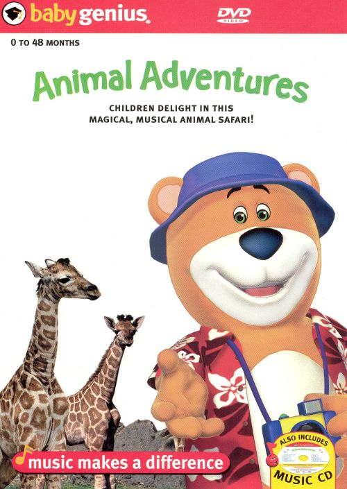 Baby Genius: Animal Adventures  [DVD]