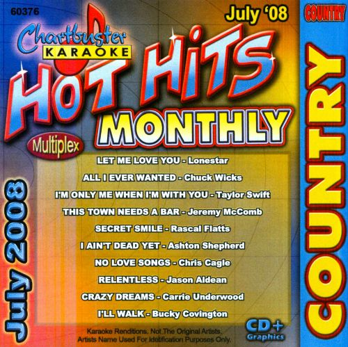 Karaoke: Hot Hits Country July 2008