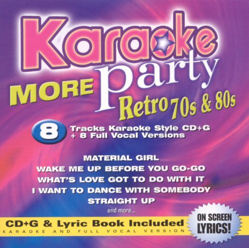 Karaoke Party: More Retro 70s & 80s, Vol. 2
