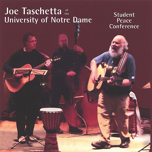 Joe Taschetta at the University of Notre Dame: Student Peace Conference