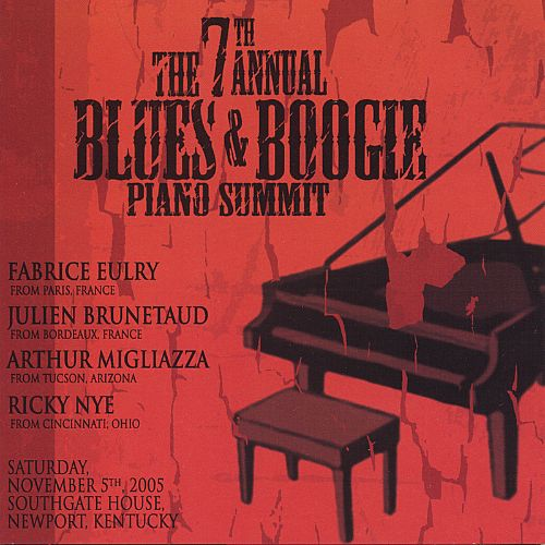 Highlights from the Seventh Annual Blues & Boogie Piano Summit
