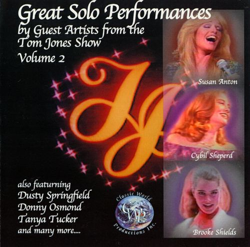 Great Solo Performances by Guest Artists from the Tom Jones Show, Vol. 2