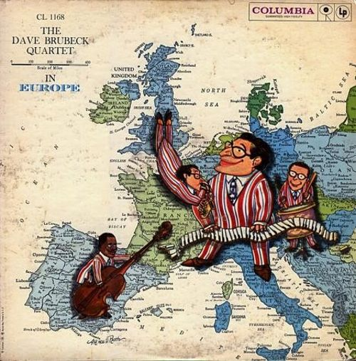 The Dave Brubeck Quartet in Europe