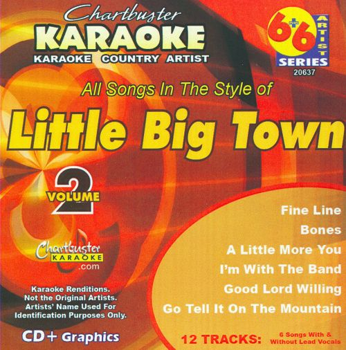 Chartbuster Karaoke: Little Big Town, Vol. 2