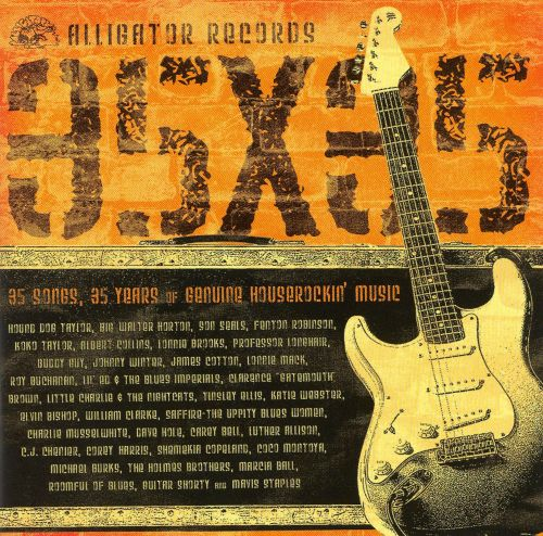 alligator records 35x35 various artists songs reviews