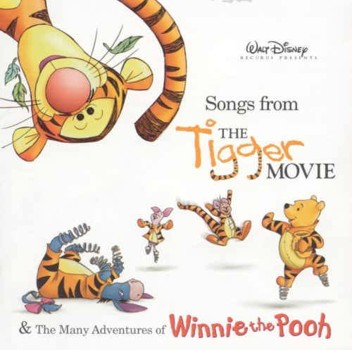 songs from the tigger movie amp the many adventures
