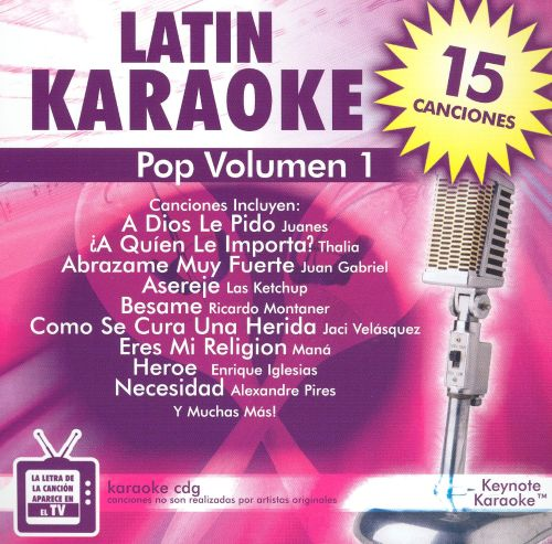 Keynote Karaoke: Latin, Vol. 1 - Pop