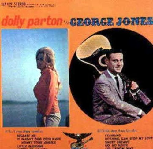 Dolly Parton and George Jones