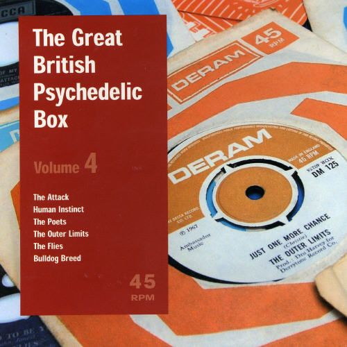 Great British Psychedelic Singles Box, Vol. 4