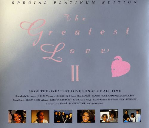 The Greatest Love, Vol. 2 [Telstar]