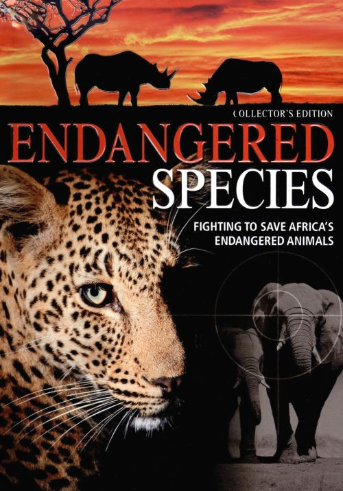 Endangered Species: Fighting To Save Africa's Endangered Animals [DVD/CD]