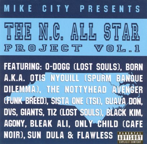 The N.C. All Star Project, Vol. 1