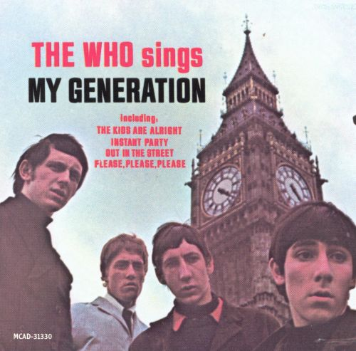 the who sings my generation the who songs reviews credits allmusic