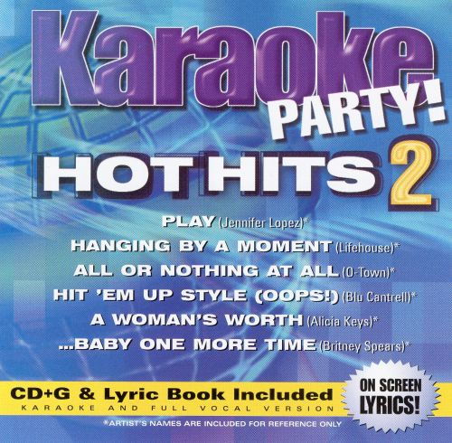 Karaoke Party! Hot Hits, Vol. 2